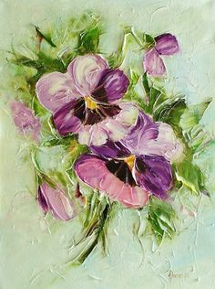 AЯT (Искусство) написал: Joanna Domagalska  Роскошь цветочного букета...