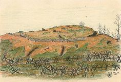 Drawing by Ernst Hartung. Europeana 1914-1918, CC BY-SA