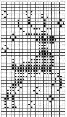 filet crochet Chart for christmas jumper 2013 Xmas Cross Stitch, Cross Stitch Charts, Cross Stitch Designs, Cross Stitching, Cross Stitch Embroidery, Embroidery Patterns, Christmas Cross Stitch Patterns, Hand Embroidery, Christmas Charts