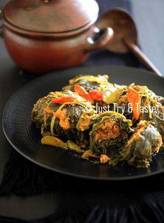 Buntil Daun Pepaya dan Daun Singkong | Just Try & Taste