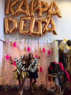 Kappa Delta Virginia Tech bid day SPARKLE!  submitted by: KD