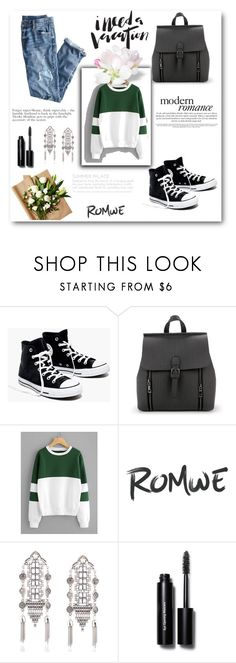 """""""ROMWE"""" by jjohanaa ❤ liked on Polyvore featuring J.Crew, Madewell and Bobbi Brown Cosmetics"""