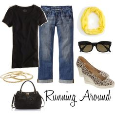 Running Around, created by kristy628k on Polyvore