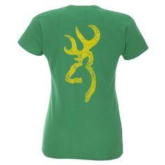 Browning Women's SMU Classic Fit Camo Buckmark T-shirt