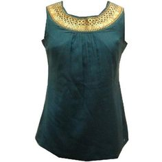 Scoop Neck Sequins Work Ladies Blouse Tunic Top Kurta Kurti Haas Fashion. $52.00. Silk Cotton. Designer Ladies Blouses /Tunics/ Tops. Sequins Work. Thigh length Sleeveless top. Inner Lining to be avoid embroiderey itchiness.If you don't want the inner lining,Kindly inform us while you place the order.. Silk Cotton