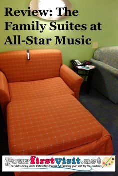 Review - The Family Suites at All-Star Music from yourfirstvisit.net