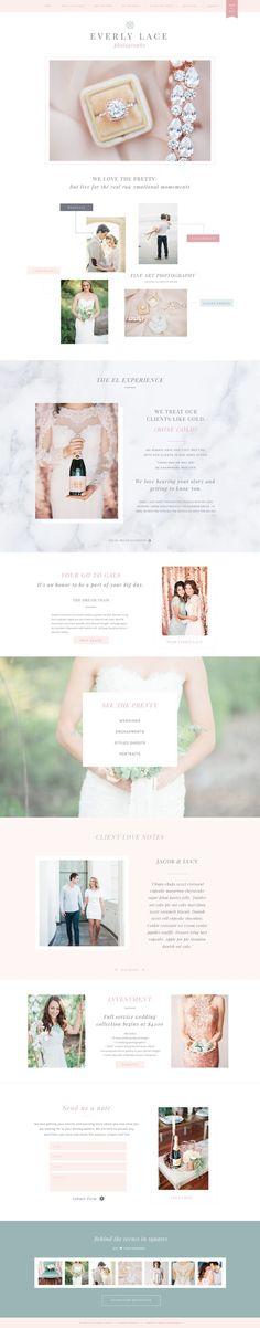 Modern Rose Gold Web Blog Brand Kit by Essem Creatives on