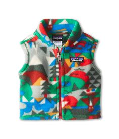 Patagonia Kids Baby Synchilla® Vest (Infant/Toddler) Bill/Web/Tumble Green - Zappos.com Free Shipping BOTH Ways