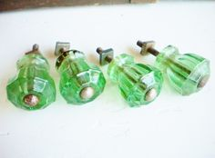 Awesome Depression Glass Cabinet Knobs