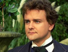 A very young Hugh Bonneville - a.k.a. Lord Grantham of  Downton Abbey