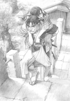 Hiroaki Samura, Blade of the Immortal, BotI Illustration Collection, Rin Asano, Manji