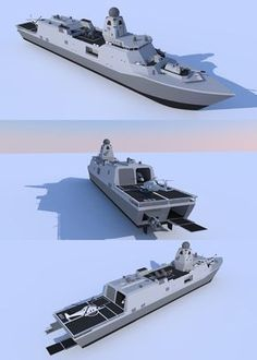 Amphibious Support Frigate by kaasjager on DeviantArt Military Gear, Military Equipment, Military Vehicles, Model Warships, Scale Model Ships, Military Drawings, Us Navy Ships, Concept Ships, Submarines