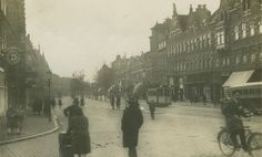 Rotterdam - Schiedamseweg, thv. Lage Erfbrug, 1930