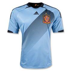 Spain Away Soccer Jersey 2012/2013