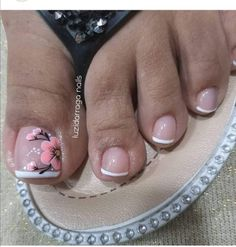 Pedicures, Manicure And Pedicure, Dream Nails, Nails Inspiration, Nail Designs, Lily, Nail Art, Instagram, Pretty Pedicures
