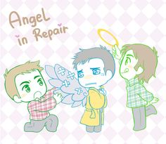 Angel In Repair by MugenMusouka on DeviantArt