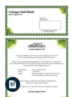 Contoh Surat Undangan Syukuran Pernikahan Microsoft Word 2010, Microsoft Excel, Microsoft Office, Certificate Design Template, Word Doc, Coreldraw, Brochure Design, Clip Art, Education