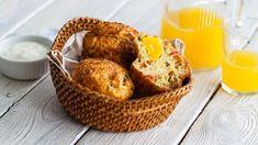 Маффины с беконом и яйцом для завтрака, пошаговый рецепт с фото