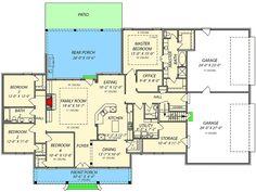 plan 56403sm 3 bed acadian house plan with bonus room hauschen