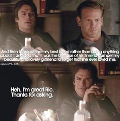"#TVD 6x06 ""The More You Ignore Me, the Closer I Get"" - Damon and Alaric"