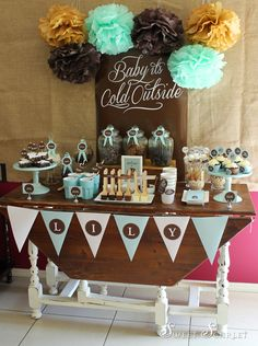 Hot Cocoa Bar...Great for your fall or winter events!