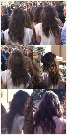 @Eleanor Smith Smith Calder Can I please have your hair? Love it. Xxx kisses..