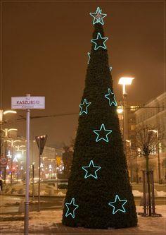Choinka na Placu Kaszubskim / Christmas tree by Kaszubski Square | fot. Waldemar Jesion