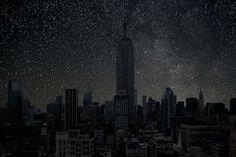 Нью-Йорк в потрясающем проекте французского фотографа