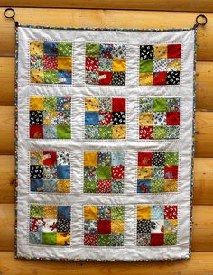 American Jane 9 Patch Baby Quilt | Cora Quilts