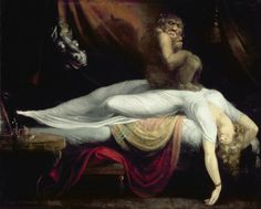The Nightmare (1781) by John Henry Fuseli