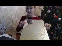 "#МК Екатерина Захваткина ""Декор зеркала..."" Ручная работа - YouTube"
