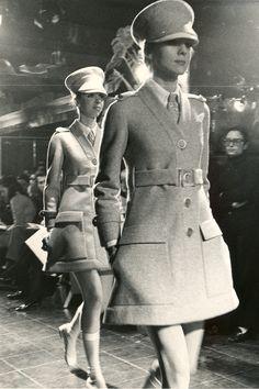 Ted Lapidus Fashion Show Haute Couture Fall 1968