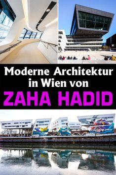 Wien: Das Erbe von Zaha Hadid - Reiseblog von Christian Öser Innsbruck, Zaha Hadid, Glasgow, Bagdad, U Bahn, Christian, Architecture, Italian Restaurants, Modern Architecture