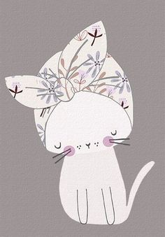 (via (133) Blog — riley | Art and Illustration | Pinterest | Cat, Kitty and Cat Illustrations) #CatIllustration