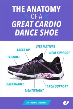 The Anatomy of a Great Cardio Dance Shoe 806904f8d