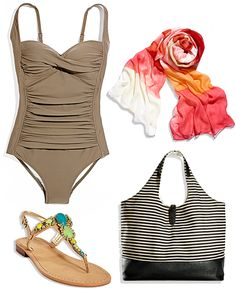 1 Piece, 5 Ways: A Figure-Flattering One-Piece | @Marshalls