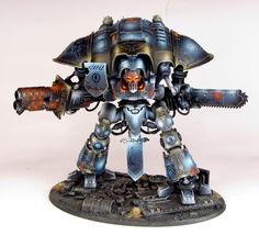 Imperial Knight - Blue Warhammer Games, Warhammer Models, Warhammer Fantasy, Warhammer 40000, Imperial Knight, Far Future, Space Wolves, War Hammer, Mini Paintings