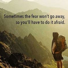 Overcoming anxiety and fear is about facing them head on by finding inspiration and motivation to conquer them despite the possibility of failure. Inspirational Quotes About Courage, Courage Quotes, Motivational Quotes, Quotes About Fear, Quotes About Overcoming Fear, Quotes About Challenges, Fear Of Failure Quotes, Overcome Quotes, Conquer Quotes