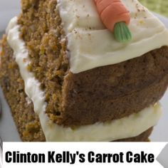 On The Chew May 14 2013, Clinton Kelly showed us how to make an old favorite from scratch with his carrot cake with whipped cream cheese frosting recipe.