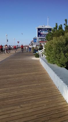 Ocean City, MD boardwalk. Love going in all the little shops.