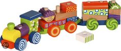 Houten Trein Set Wooden Toys, Car, Wooden Toy Plans, Wood Toys, Automobile, Woodworking Toys, Cars