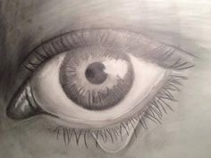 One of my first tries to realistic drawing, made over a year ago