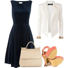 """P&B"" by gessilene-ferreira on Polyvore"