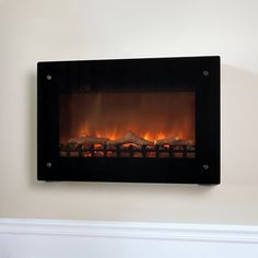 The Tuscany Stone Mosaic Wall Ventless Electric Indoor Fireplace Dark Walnut Fireplace Ideas