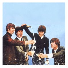 """The Beatles celebrate their 50th Anniversary today of their first  appearance on The Ed Sullivan Show Feb. 9, 1964. They opened with """"All My Loving,"""" then """"Till There Was You"""" and """"She Loves You."""" At the end of the show, they sang """"I Saw Here Standing There"""" and """"I Want To Hold Your Hand."""""""