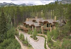 Or this mountain house....