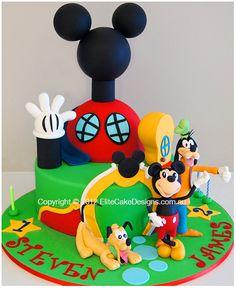 Mickey Clubhouse Kids Birthday Cakes