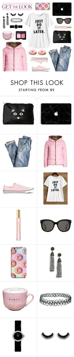 """Get the Look - Winter Style"" by lgb321 on Polyvore featuring Stella & Max, J.Crew, Duvetica, Converse, Tory Burch, Gentle Monster, BaubleBar, Topshop, Christian Dior and NARS Cosmetics"