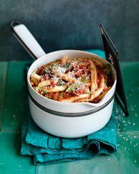 Fusilli with Summer Tomato Sauce  - Fast Italian Summer