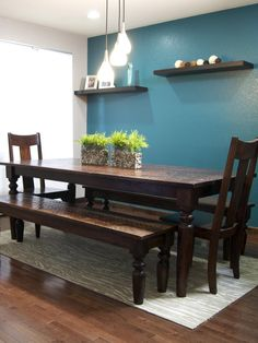 From Empty Floor Plan To Zen Inspired Great Room Teal Dining RoomsInterior Paint